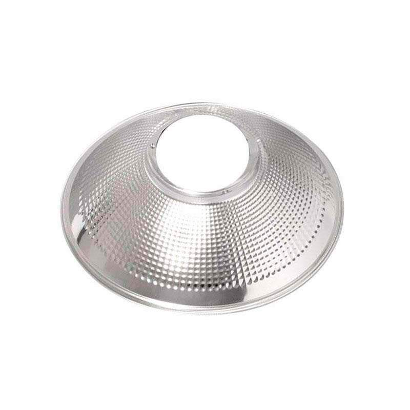 Reflector aluminio 90º para lámpara industrial, Ø142mm
